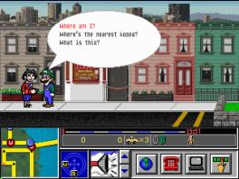 Je moet met allerlei mensen praten om er achter te komen wat er met Mario is gebeurd.