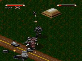 Mecharrior een van de weinige first- person games op de <a href = https://www.mariosnes.nl/Super-Nintendo-game.php?t=Super_Nintendo target = _blank>Super Nintendo</a>.