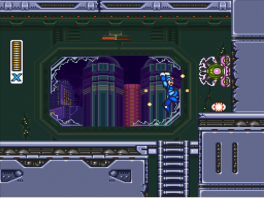 Mega Man X3: Screenshot