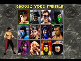 Mortal Kombat 2 heeft 12 vechters om uit te kiezen!