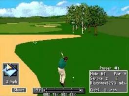 PGA Tour 96: Afbeelding met speelbare characters