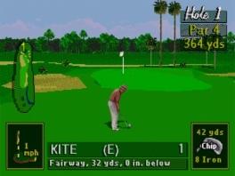 PGA Tour 96: Screenshot