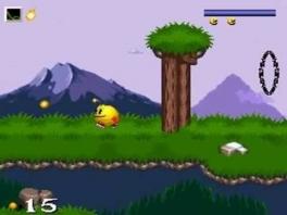 Eens wat anders dan snoep happen, dit spel doet wat denken aan de Mario side scrollers.