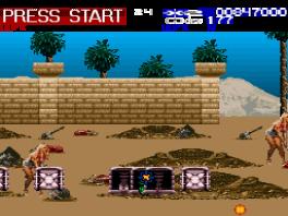 Revolution X: Screenshot