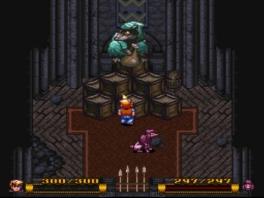 Mooie Role Playing Game die een beetje doet denken aan <a href = https://www.mariosnes.nl/Super-Nintendo-game.php?t=The_Legend_of_Zelda_A_Link_to_the_Past target = _blank>Zelda A Link To The Past</a>