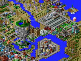 Bouw je eigen stad in dit top vervolg op de <a href = https://www.mariosnes.nl/Super-Nintendo-game.php?t=SimCity target = _blank>Sim City</a>!