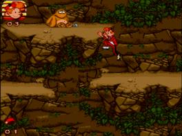 In deze game speel je als Robbedoes uit de TV serie.
