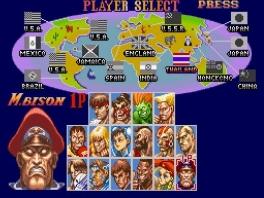 Keuze uit 16 vechters uit verschillende landen