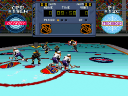 Super Hockey: Screenshot