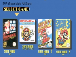 Deze compilatie bevat Super Mario Bros. deel een tot en met drie en daarnaast ook The Lost Levels!P