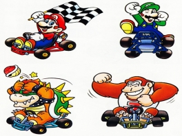 In dit spel speel je als tal van welbekende Mario-personages, waaronder Donkey Kong Jr.!