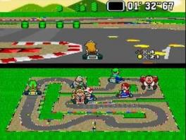 Hoewel de <a href = https://www.mariosnes.nl/Super-Nintendo-game.php?t=Super_Nintendo target = _blank>SNES</a> in principe een 2D-console is, lijkt het in dit spel in 3D.