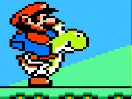 Dit spel voegde als eerste de mogelijkheid toe om op Yoshi te zitten