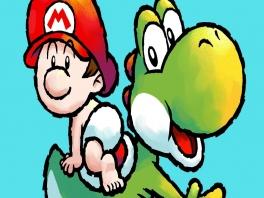 Speel als Yoshi en breng Baby Mario in veiligheid!