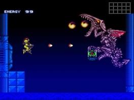 Red de Baby Metroid uit de handen van Ridley en de Space Pirates!