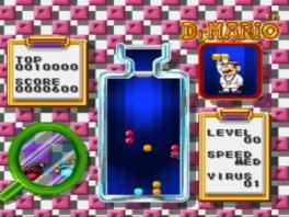 In Dr. Mario los je ziektes op zoals elke goede dokter dat doet: door pillen tegen virussen te gooien! Wacht...