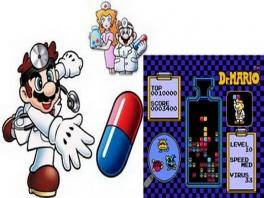 Beide spellen op deze cartridge kunnen met één of met twee spelers gespeeld worden.