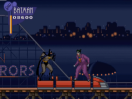 The Joker is ook van de partij, 1 van de schurken in de Batman games.