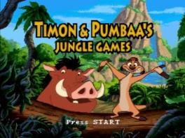 Speel met Timon &amp; Pumbaa, de helden uit de <a href = https://www.mariosnes.nl/Super-Nintendo-game.php?t=The_Lion_King target = _blank>Lion King</a> film!