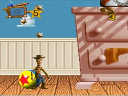 Speel als cowboy Woody in alle bekende scenes uit de film!