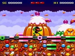 Ren, spring en vecht je door de lekker uitziende levels!