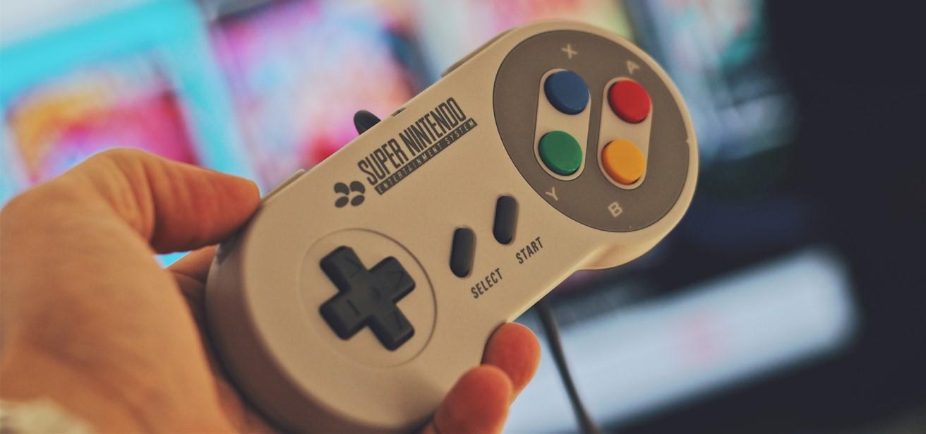 Super Nintendo met games