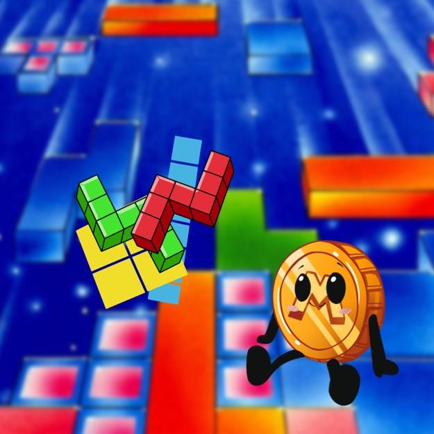 Tetris op de SNES met MR M