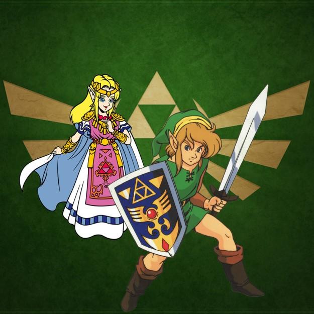 Zelda en Link op de SNES